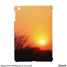 Sunset over Centurion. iPad Mini Cover
