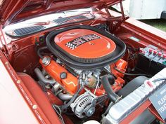 a Mopar engine