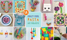 Cool Pasta Art Projects for Kids