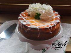 Tarta de queso ricotta on http://www.recetashuga.es #recetas #postres #ricotta