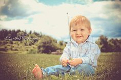 LLarsonPhotography, One years old! Country boy!