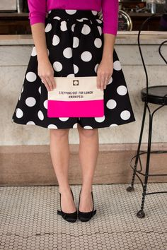 Preppy Polka dots and Kate Spade for the Holidays