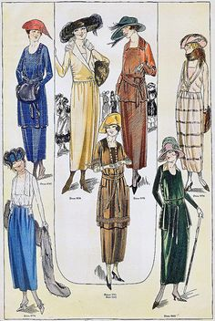 December 1919 Fashion
