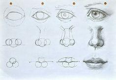 Лицо, рисунок