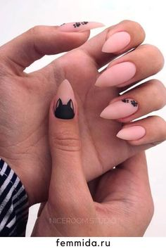 Cat Nail Designs, Best Nail Art Designs, Simple Nail Designs, Pale Pink Nails, Pastel Pink, Nail Drawing, Cat Nails, Birthday Nails, Stylish Nails