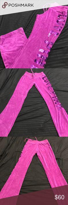 Women's PINK sweat pants New no tags size XS PINK Victoria's Secret Pants Track Pants & Joggers