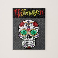 Halloween Jigsaw Puzzle - home gifts ideas decor special unique custom individual customized individualized