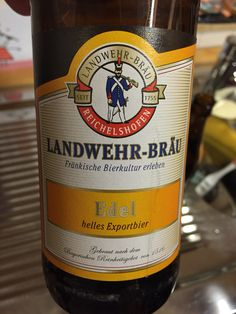 Landwehr Bräu Beer Brands, Beer Bottle, Canning, Drinks, World, German Beer, Branding, Culture, Drinking