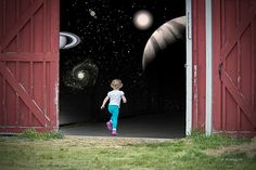 New Worlds Await by Brian Wallace #surreal #children #fantasy