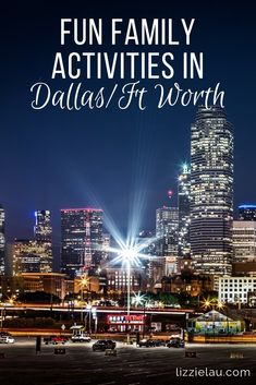 Five Fun Family Activities In Dallas Fort Worth #Dallas #FortWorth #Texas #familytravel #USA