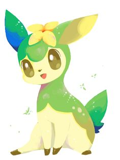 It's a summer Deerling from Poke'mon Black and White.  Can I bring it home with me?