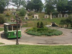 Trolley in Greenwood Cemetery. Greenwood Cemetery, Cemetery Monuments, Brooklyn, Beautiful