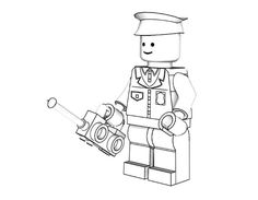 Emmet is a construction worker Lego minifigure. He will