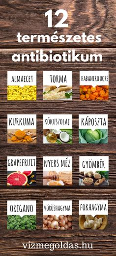 Természet patikája - természetes antibiotikumok Healthy Drinks, Healthy Eating, Healthy Recipes, Fitness Diet, Health Fitness, Health And Wellness Center, Natural Health Remedies, Herbalism, Healthy Lifestyle