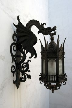 Awesome lamp post.