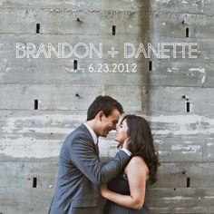 San Diego Skyline Modern Invitations :  wedding diy invitations modern skyline teal white Intro Card