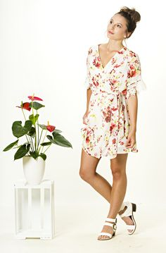 The Lonely Rose Dress is perfect for the summer season. Shop for yours from www.vanillamayboutique.co.nz