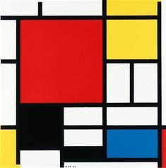 Bilderesultat for Piet Mondrian