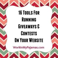 There are a lot of options that are free or relatively inexpensive to make it easy for visitors to enter your contest all while growing your mailing list and social followers.
