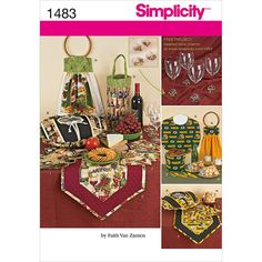 Simplicity Pattern 1483OS One Size -Crafts CraftsSimplicity Pattern 1483OS One Size -Crafts Crafts,