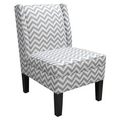Skyline Furniture Wingback Slipper Chair | Wayfair    Living Room