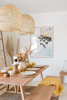 If you're looking for a little inspiration to jazz up your dining room this entertaining season, look no further that the RAW Sunshine Coast showroom. We have over 190sqm of inspiring displays and huge selection of dinnerware to suit every tastes. You can find us at 23 Kayleigh Drive Maroochydore. Pictured is our Stark Dining Table in solid Blackbutt. #diningroom #timbertable #entertaining #sumemr #christmas2019 #dinnersetting #dinnerware #pendants #woodentable #customtable #timberdiningtable