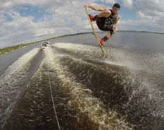 Danny Harf Wakeboarding in Florida. Photo by Trever Maur.