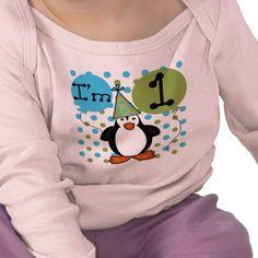 Penguin birthday shirt