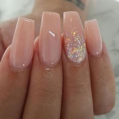 Stylish Acrylic Nail Designs That You Have to Try This Year; Acrylic Nails 2018 Stylish Acrylic Nail Designs That You Have to Try This Year; Prom Nails, Long Nails, My Nails, Matte Nails, Fall Nails, Coffin Nails Short, Short Pink Nails, Cute Nails For Fall, Coffin Shape Nails