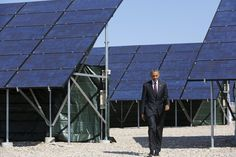 """Obama presses Trump not to back away from clean energy - """"Despite the policy uncertainty that we face, I remain convinced that no country is better suited to confront the climate challenge and reap the economic benefits of a low-carbon future than the United States,"""" Obama wrote."""
