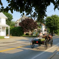 Amish horse and buggy in Pennsylvania's Amish Country!