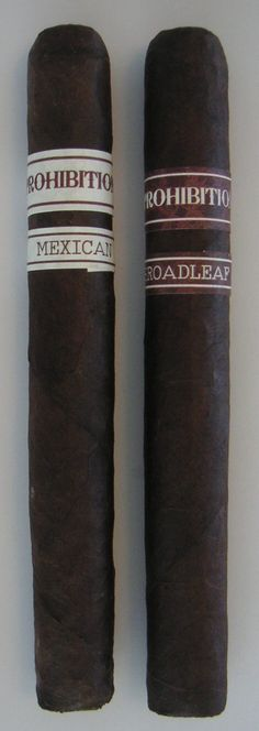 Review of Rocky Patel Prohibition Cigars: http://cigarczars.com/review/rocky-patel-prohibition-cigars.htm .