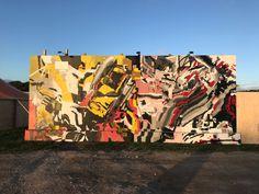 #askewone #muralist #largescalemurals #postgraffiti #glitch #postdigital #graffiti #elliotodonnell #interiordesign #painting