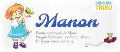 Le prénom Manon : la «Marie» provençale  (Signification et histoire)
