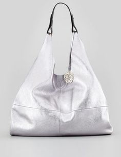 VINCE CAMUTO - Kalay Metallic Leather Hobo Bag