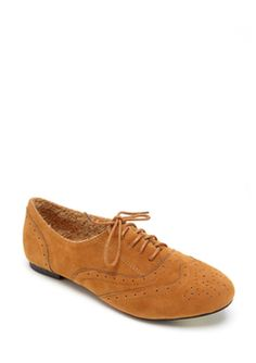 De Blossom Collection Camel Massi-2-Low oxford flat