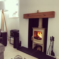 Charnwood c four log store woodburner Log Store, Wood Burning, New Homes, Home Appliances, Fire Places, Traditional, Stoves, Interior, House