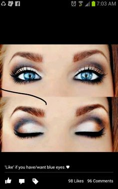 Blu-eyed beauty