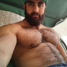 Can suggest naked hairy arab man have