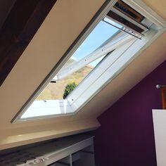 Loving the sunshine whilst I paint the window frames #sunshine #spring #springcleaning