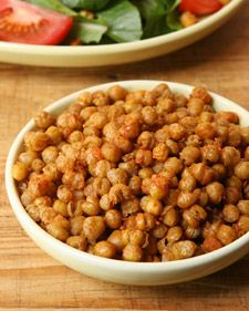 Perfect Tapas Recipe. Wouldn't be a tapas bar without the fried chickpeas!
