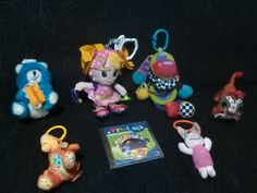 Lote pack juguetes infantil niños y niñas 2 PLAYGRO + CD lunnis + 4 peluches