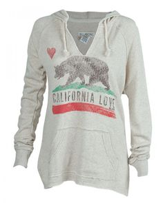 Show Your California Love this Holiday // Billabong Days Off Hoodie Sweatshirt