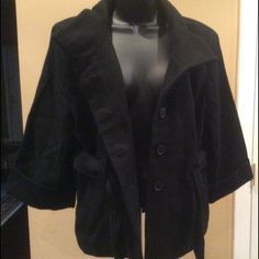 "Selling this ""Old Navy Wool Blend Pea Coat with Belt New size XL"" in my Poshmark closet! My username is: dkellim. #shopmycloset #poshmark #fashion #shopping #style #forsale #Old Navy #Jackets & Blazers"