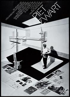 Piet Zwart. Ein pionier des Holländischen Funktionalismus Retrospective in Graphik und Design Kunstgewerbemuseum Zürich, 1971