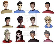 Star Trek: The Original Series by =Cafcow on deviantART