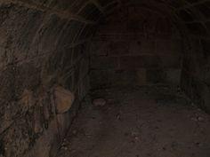 interior de la cisterna, entrada del caudal