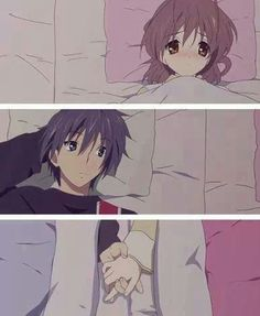 ☯Clannad-- Season 2 killed my heart. But seriously, this was an awesome anime. I don't think I'll read the manga, though. The art is better in the anime.☯
