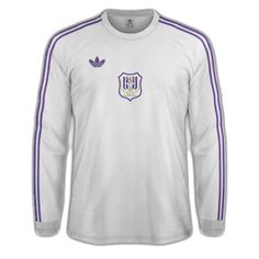 Anderlecht of Belgium home shirt for Football Kits, Belgium, 1980s, Sports, Mens Tops, How To Wear, Architecture, Life, Fashion