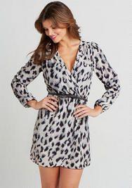 Paige Leopard Dress